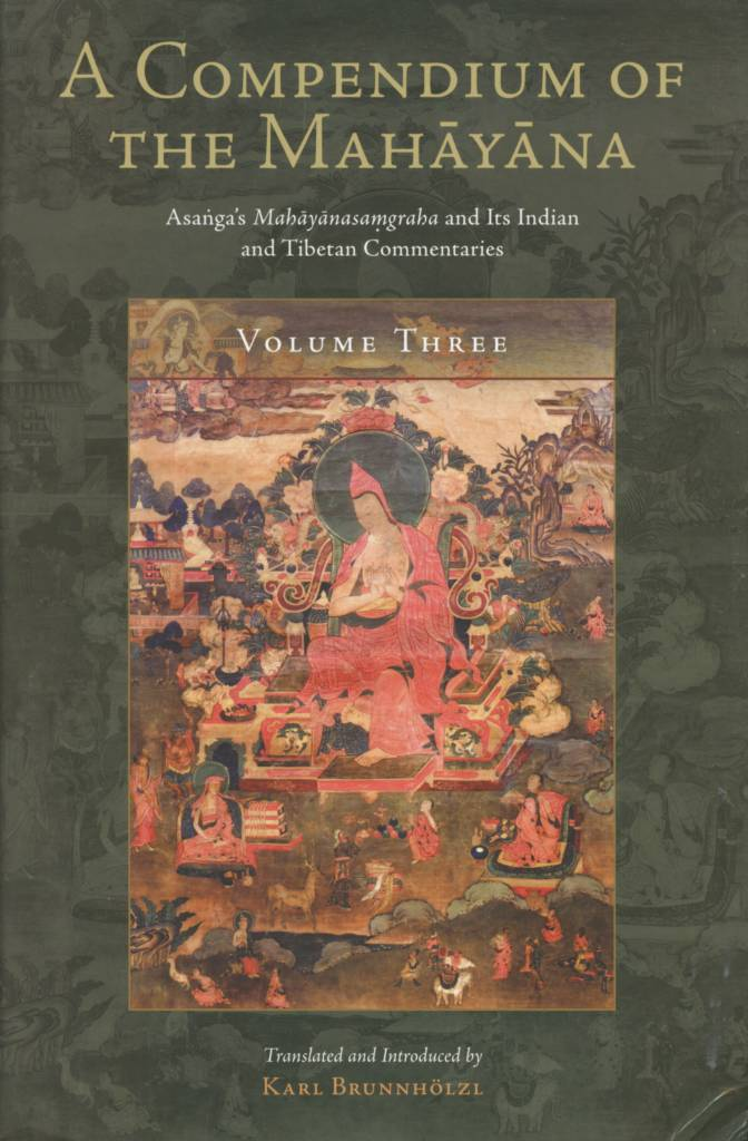 A Compendium of the Mahāyāna Volume Three-front.jpg