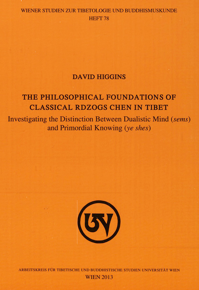 The Philosophical Foundations of Classical rDzogs Chen in Tibet-front.jpg
