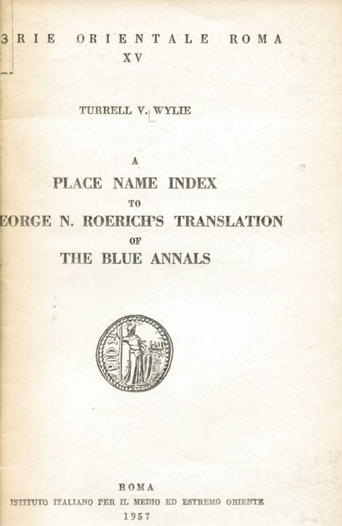 A Place Name Index to George N. Roerich's Translation of The Blue Annals-front.jpeg