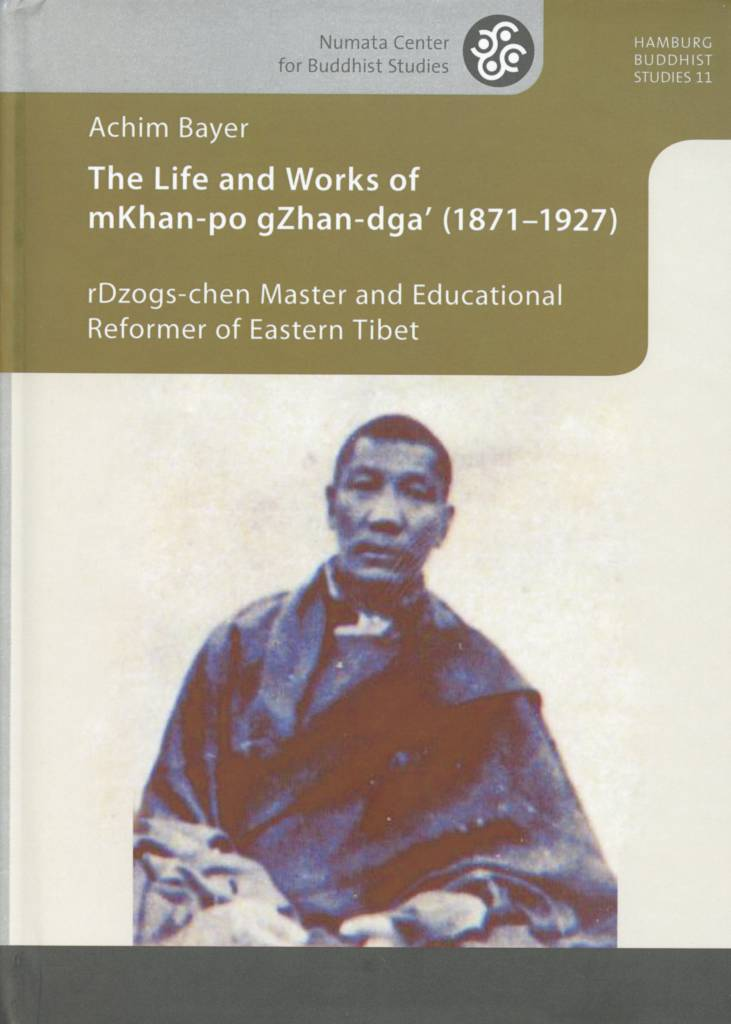 The Life and Works of mKhan-po gZhan-dga' (1871-1927)-front.jpeg