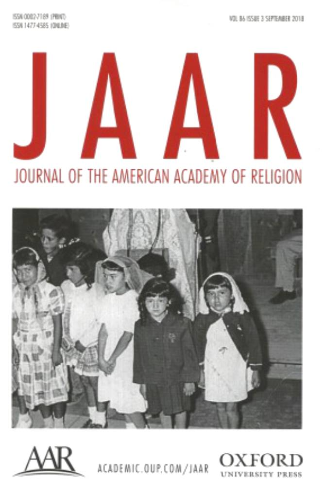 Journal of the American Academy of Religion Vol. 86 No. 3-front.jpg