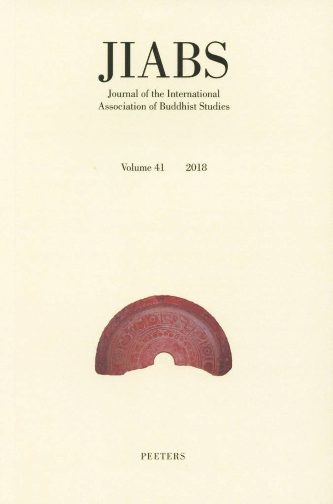 Journal of the International Association of Buddhist Studies Volume 41-front.jpg