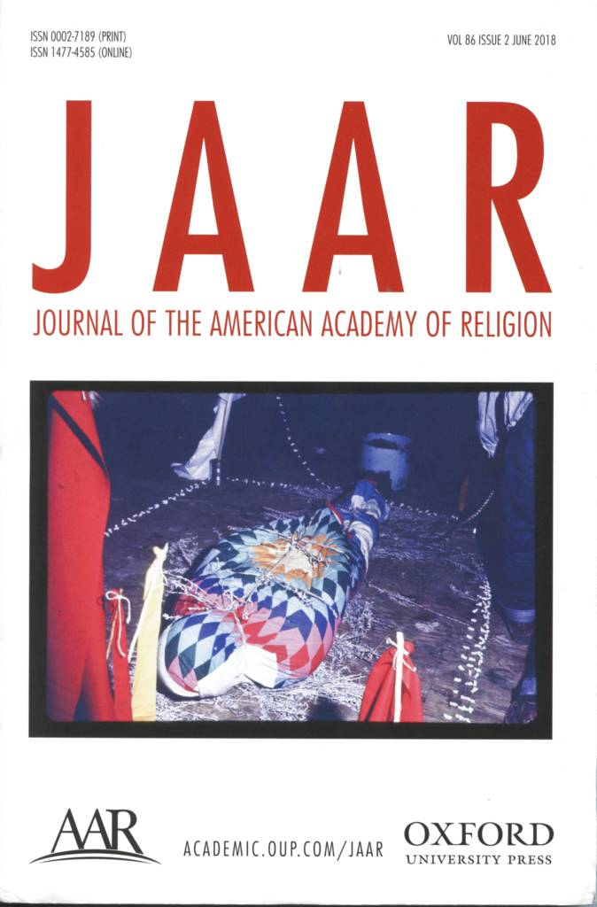 JAAR Vol. 86 No. 2 (2018) front.jpg