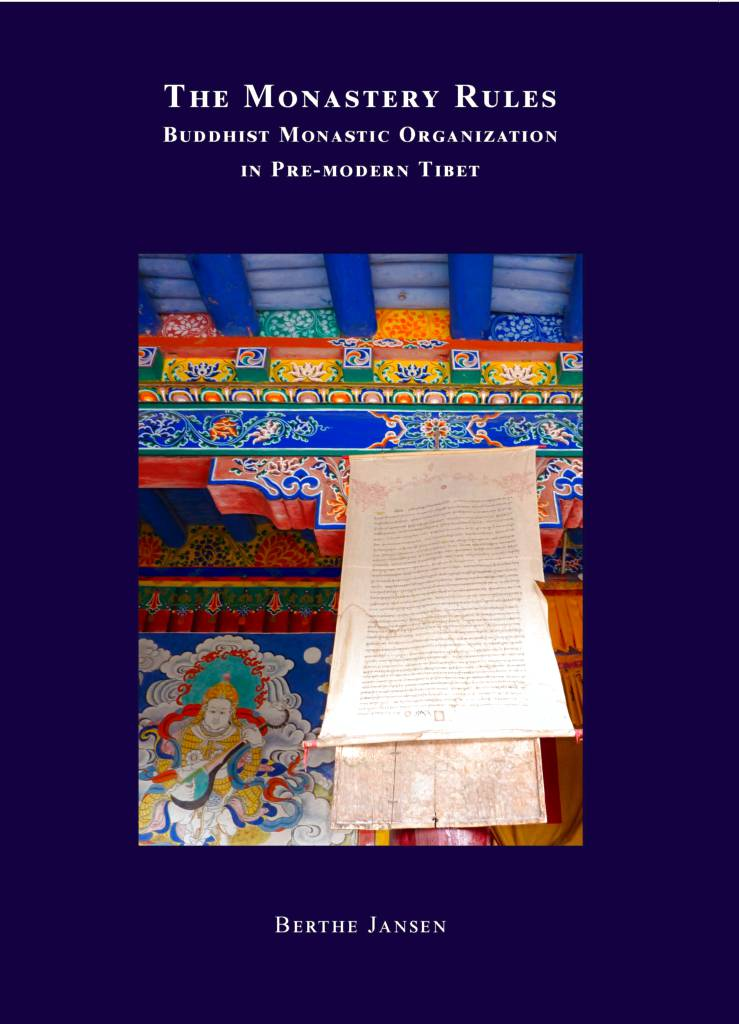 The Monastery Rules - Buddhist Monastic Organization in Pre-Modern Tibet-front.jpg